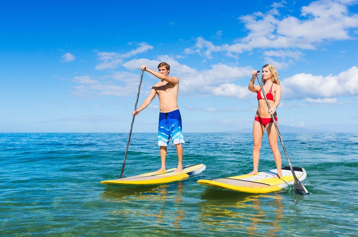SUP Boarding - Beach Activities